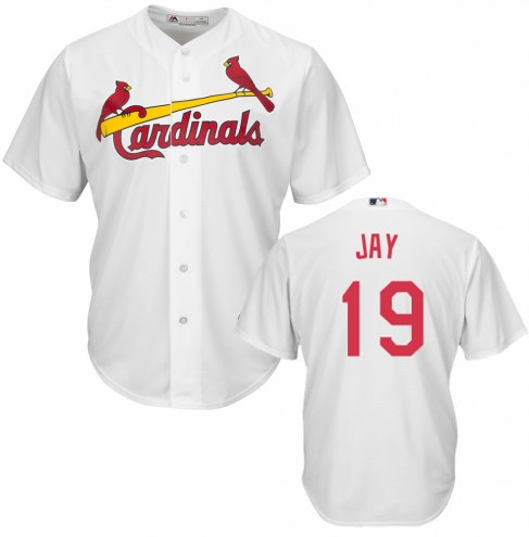 St. Louis Cardinals Jon Jay Replica Home Baseball Jersey