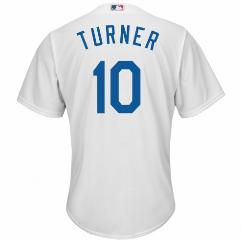 Los Angeles Dodgers Justin Turner Replica Home Baseball Jersey