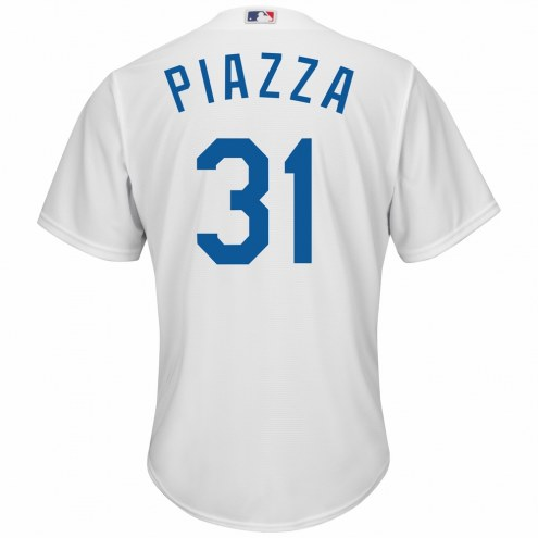 Los Angeles Dodgers Mike Piazza Replica Home Baseball Jersey