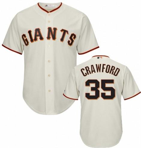 San Francisco Giants Brandon Crawford Replica Home Baseball Jersey