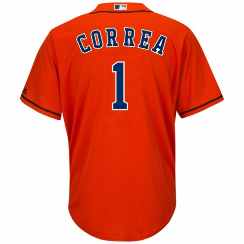 Houston Astros Carlos Correa Replica Orange Alternate Baseball Jersey