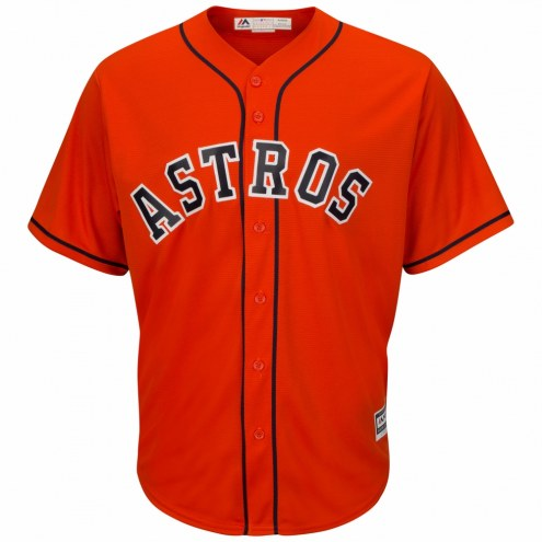 Houston Astros Replica Orange Alternate Baseball Jersey
