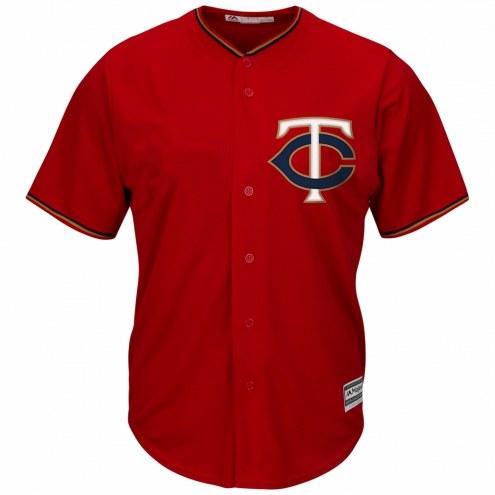 Minnesota Twins Replica Scarlet Alternate Baseball Jersey