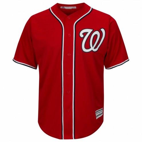 Washington Nationals Replica Scarlet Alternate Baseball Jersey