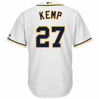 low priced d2b2f 5cafe San Diego Padres Matt Kemp Replica Home Baseball Jersey