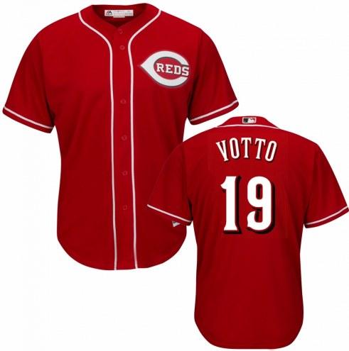 Cincinnati Reds Joey Votto Replica Scarlet Alternate Baseball Jersey