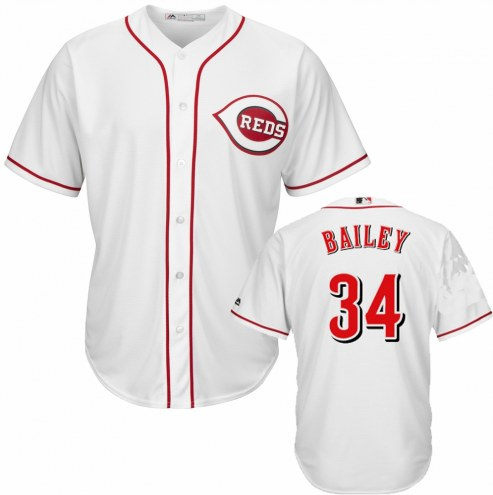 Cincinnati Reds Homer Bailey Replica Home Baseball Jersey