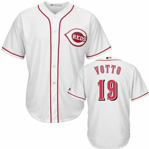 Cincinnati Reds Joey Votto Replica Home Baseball Jersey