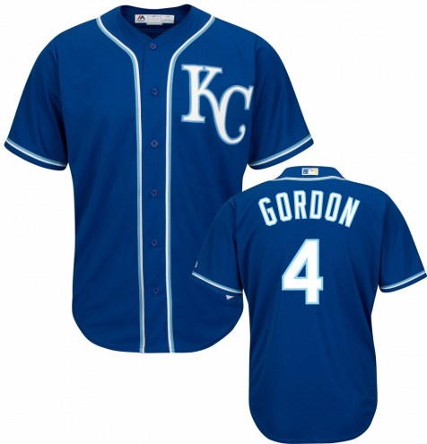 Kansas City Royals Alex Gordon Replica Road Alternate Baseball Jersey