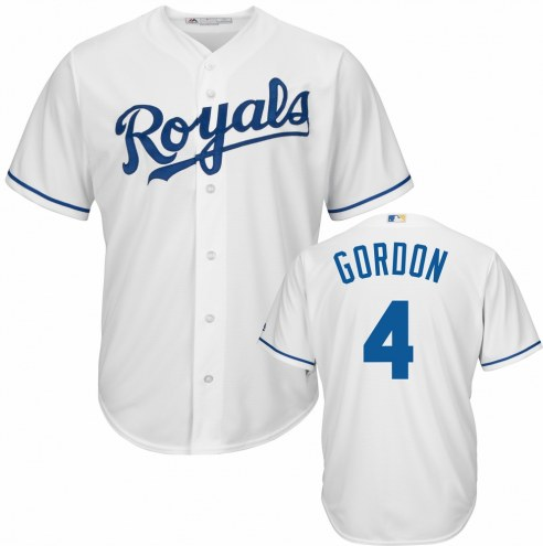 Kansas City Royals Alex Gordon Replica Home Baseball Jersey