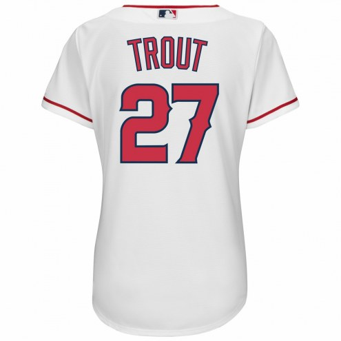 Los Angeles Angels Mike Trout Women's Replica Home Baseball Jersey