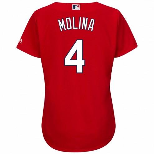 St. Louis Cardinals Yadier Molina Women's Replica Scarlet Alternate Baseball Jersey