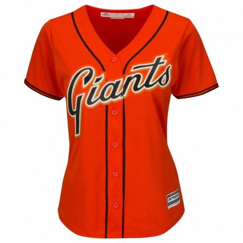 San Francisco Giants Women's Replica Orange Alternate Baseball Jersey