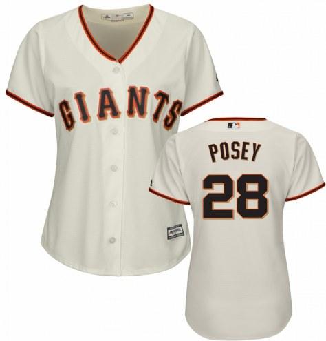 San Francisco Giants Buster Posey Women's Replica Home Baseball Jersey
