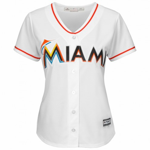 Miami Marlins Women's Replica Home Baseball Jersey