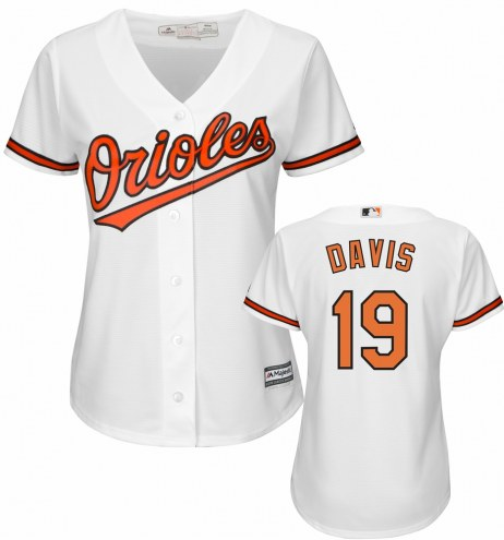 Baltimore Orioles Chris Davis Women's Replica Home Baseball Jersey