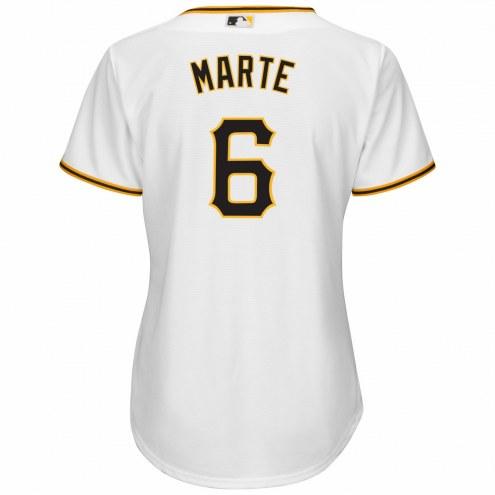 Pittsburgh Pirates Starling Marte Women's Replica Home Baseball Jersey