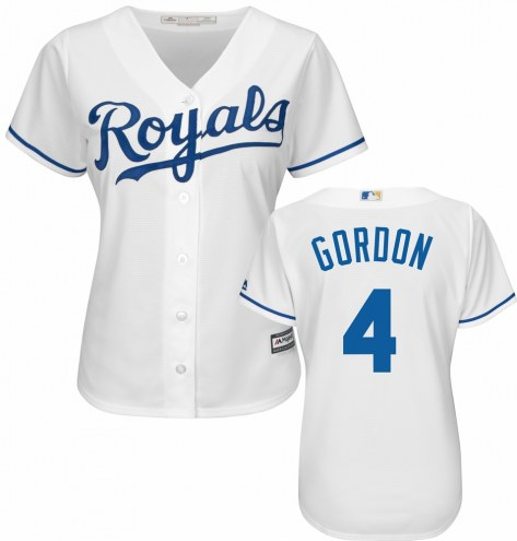 Kansas City Royals Alex Gordon Women's Replica Home Baseball Jersey
