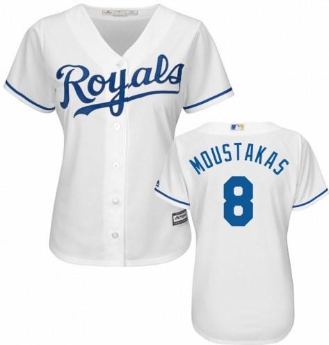 Kansas City Royals Mike Moustakas Women's Replica Home Baseball Jersey