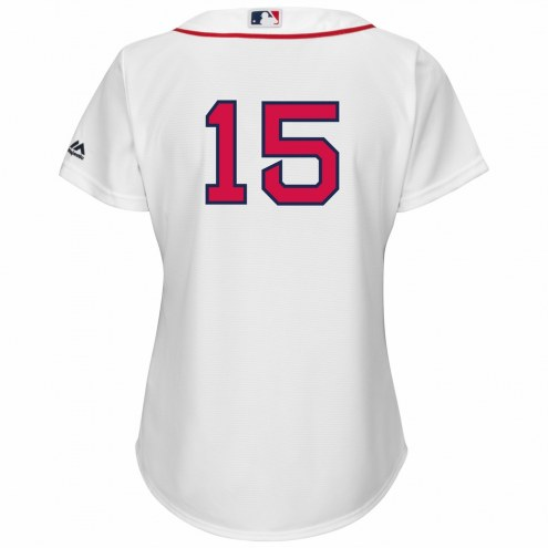 Boston Red Sox Dustin Pedroia Women's Number Only Replica Home Baseball Jersey