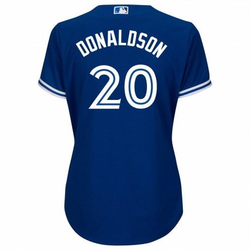 Toronto Blue Jays Josh Donaldson Women's Replica Bright Royal Alternate Baseball Jersey