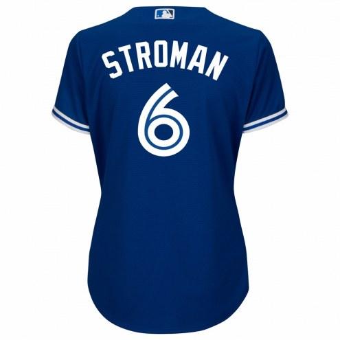Toronto Blue Jays Marcus Stroman Women's Replica Bright Royal Alternate Baseball Jersey