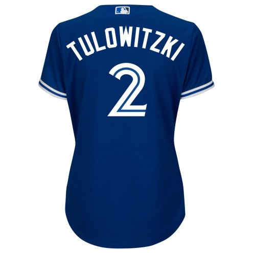 Toronto Blue Jays Troy Tulowitzki Women's Replica Bright Royal Alternate Baseball Jersey