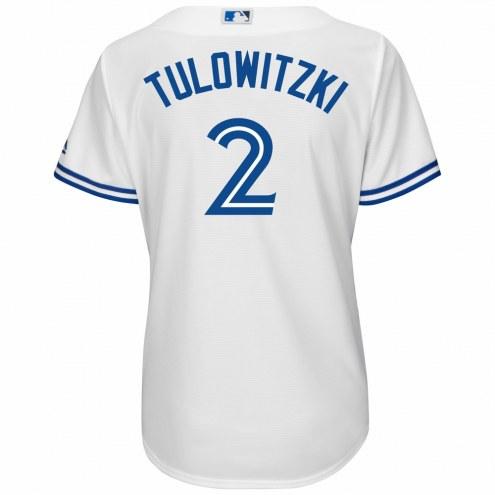 Toronto Blue Jays Troy Tulowitzki Women's Replica Home Baseball Jersey