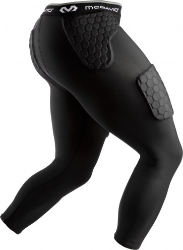 McDavid Rival Integrated Girdle with Hard Shell Thigh Guards