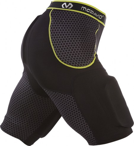 McDavid Rival Youth Integrated Football Girdle with Hard Shell Thigh Guards