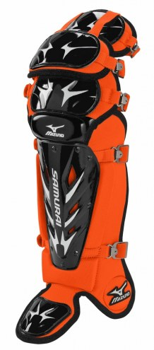 "Mizuno Samurai G3 14.5"" Youth Baseball Catchers Shin Guards"