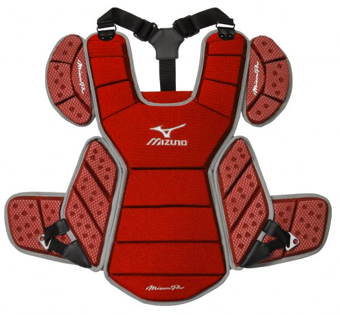"Mizuno MPCP115 Pro 17"" Baseball Catcher's Chest Protector"