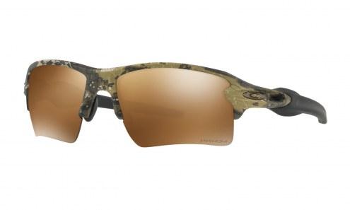 Oakley Flak 2.0 XL Sunglasses - Desolve Bare/Polarized Black Iridium