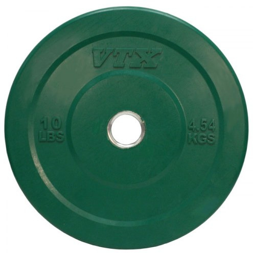 VTX Solid Rubber Colored Bumper Training Plate