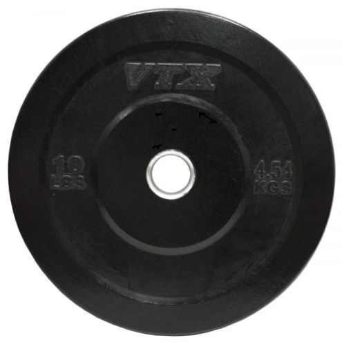 VTX Black Rubber Bumper Plate