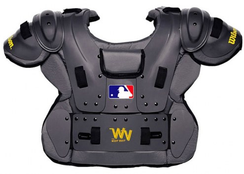 Wilson MLB Pro Platinum Baseball Umpire Chest Protector