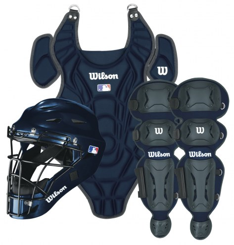 Wilson A3684 EZ Gear Youth Baseball Catchers Gear Set - Ages 7-12