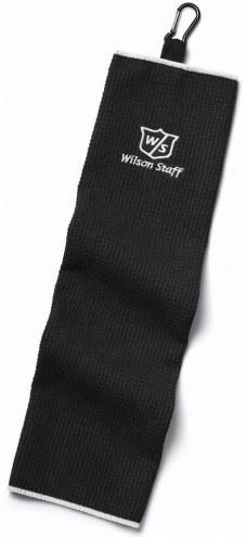 "Wilson Staff Trifold 16"" x 21"" Golf Towel"