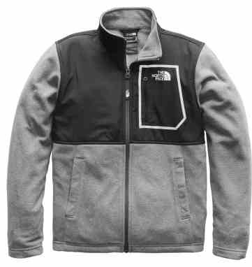 c68ccaf82 The North Face Boys' Glacier Track Fleece Jacket