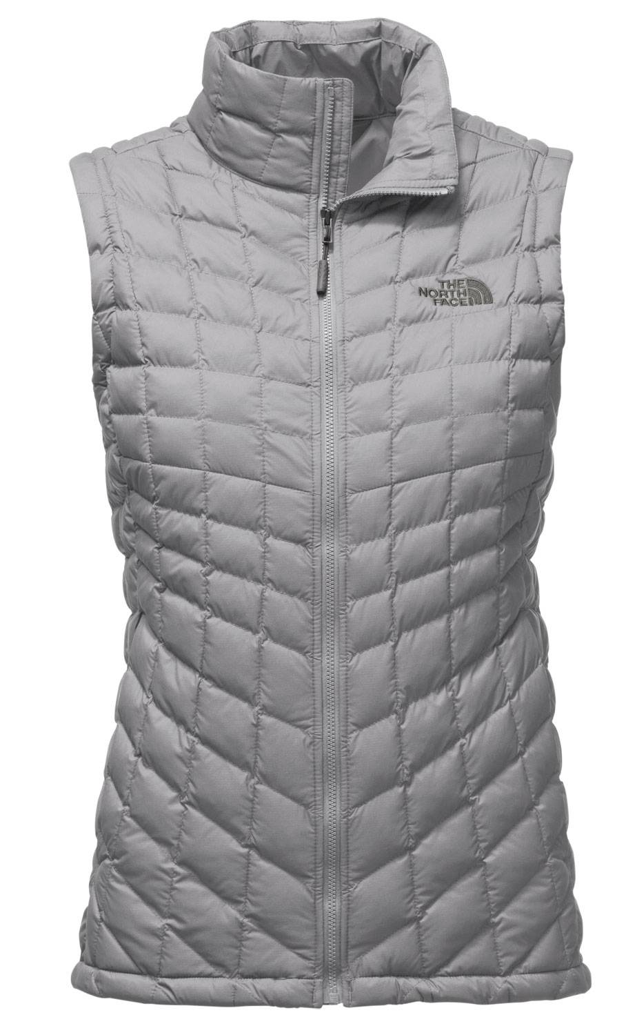 a6fa10a685 Style and function collide in The North Face ThermoBall Women s Vest. Made  with PrimaLoft synthetic insulation to trap heat within small air pockets  to ...