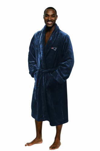 New England Patriots Men's Bathrobe