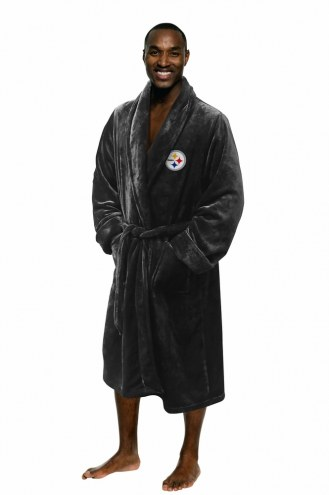 Pittsburgh Steelers Men's Bathrobe