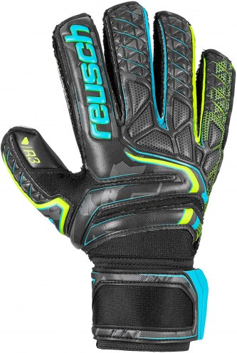 Reusch Attrakt R3 Finger Support Soccer Goalie Gloves