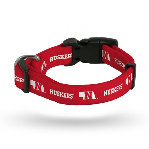 Nebraska Cornhuskers Dog Collar