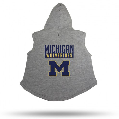 Michigan Wolverines Dog Hoodie