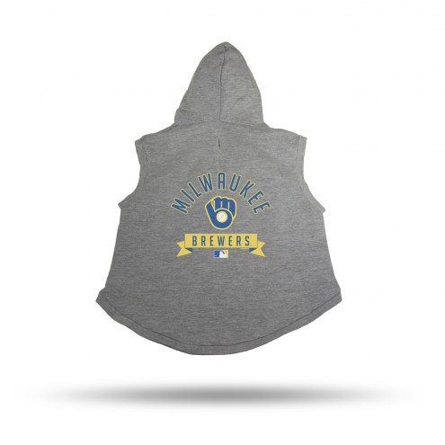 Milwaukee Brewers Dog Hoodie