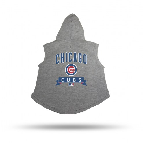 Chicago Cubs Dog Hoodie