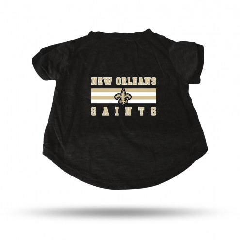 New Orleans Saints Dog T-Shirt