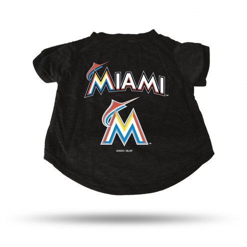 Miami Marlins Dog T-Shirt