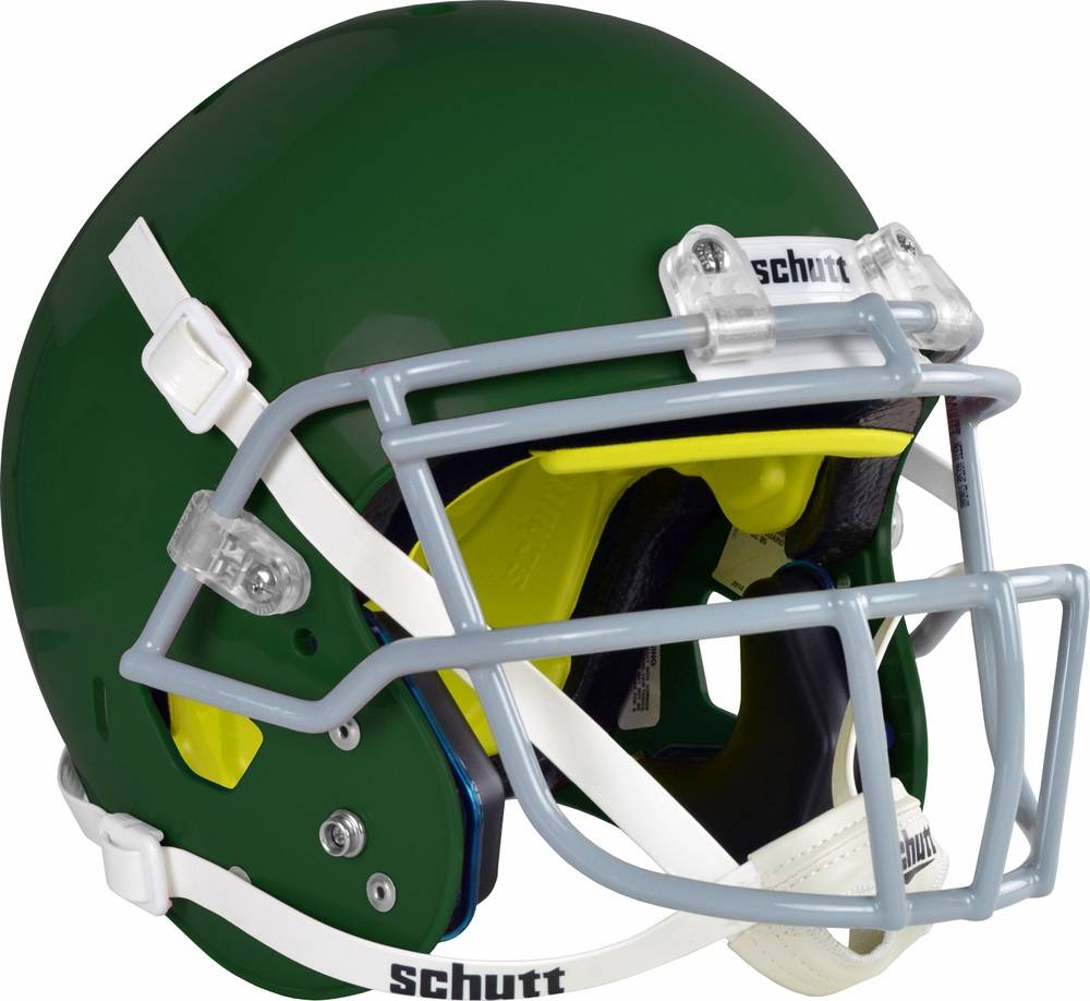 9efbd3212faa Schutt Air Standard V Youth Football Helmet Dark Green XS